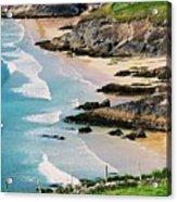 Waves Coming Ashore At Sybil Point Ireland  # 1 Acrylic Print