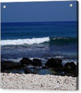 Waves In Paradise Acrylic Print