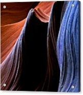 Waves Acrylic Print by Mike  Dawson