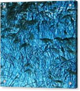 Waves Of Blue Acrylic Print