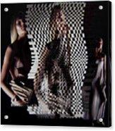 Waves Of Light And Shadow Acrylic Print