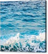 Waves Of Nice France Acrylic Print