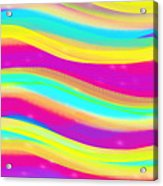 Waves Of Wishes Acrylic Print