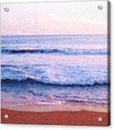 Waves On The Beach 2 Aedb Acrylic Print