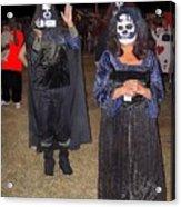 Waving Ghoul Cinematographer Halloween Casa Grande Arizona 2004 Acrylic Print
