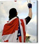 Waving The Flag Acrylic Print