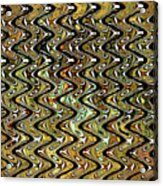 Wavy Waves Acrylic Print