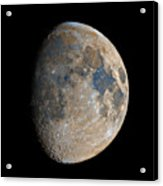 Waxing Gibbous Moon / Day 11 Acrylic Print