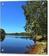 Way Down Upon The Swuanee River In Hdr Acrylic Print
