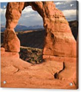 Way Of Delicate Arch  Acrylic Print