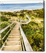 Way To Neck Beach Acrylic Print
