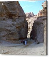 Way To Petra Acrylic Print