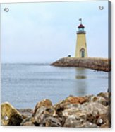 Way To The Lighthouse Acrylic Print