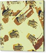 Wayback England Acrylic Print