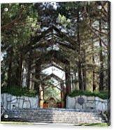 Wayfarers Chapel Acrylic Print