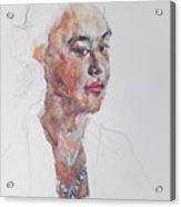 Wc Mini Portrait 8             Acrylic Print