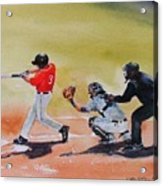 Wcu At The Plate Acrylic Print