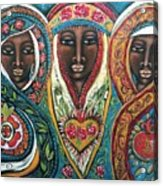 We Three Queens Of Orient Are Acrylic Print