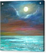 We Will Allways Have The Moon. Sold Acrylic Print