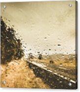 Weather Roads Acrylic Print