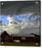 Weather Threatening The Farm Acrylic Print
