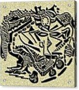 Weathered Bedu  Acrylic Print