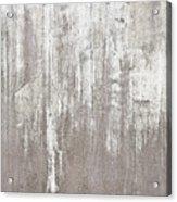 Weathered Metal Acrylic Print