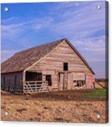 Weathered Old Barn Acrylic Print