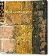 Weathered Wall Acrylic Print