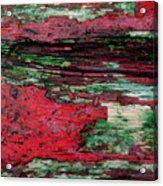 Weathered Wood 3 Acrylic Print