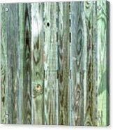 Weathered Wood Acrylic Print
