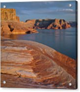 Weathering Pit Ridge Sunset Acrylic Print