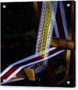 Weaving At Dawn Acrylic Print