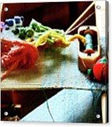 Weaving Supplies Acrylic Print