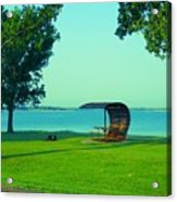 Webster State Park Acrylic Print