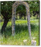 Wedding Bliss Acrylic Print