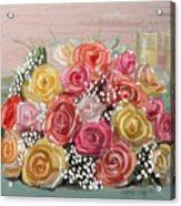 Wedding Bouquet Acrylic Print
