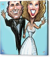 Wedding Cake Dolls Acrylic Print