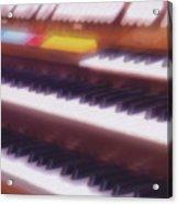 Wedding Chapel Organ Acrylic Print