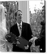 Wedding Couple Example Acrylic Print