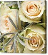 Wedding Flowers Acrylic Print by Wim Lanclus