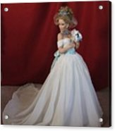 Wedding Gown Acrylic Print