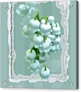 Wedding Happiness Greeting Card - Lily Of The Valley Flowers Acrylic Print