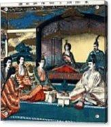 Wedding Of Crown Prince Yoshihito And Princess Kujo Sadako, 1900 Acrylic Print