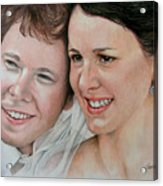 Wedding Portrait Acrylic Print