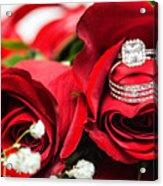 Wedding Rings Acrylic Print