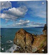 Wedding Rock Patrick Point Acrylic Print