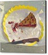 Wedge Of Cake Acrylic Print