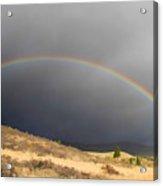Wednesday Morning Rainbow Acrylic Print