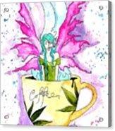 Weed Fairy Naptime Acrylic Print